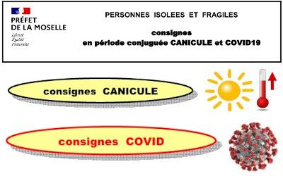 Consignes canicule et covid-19